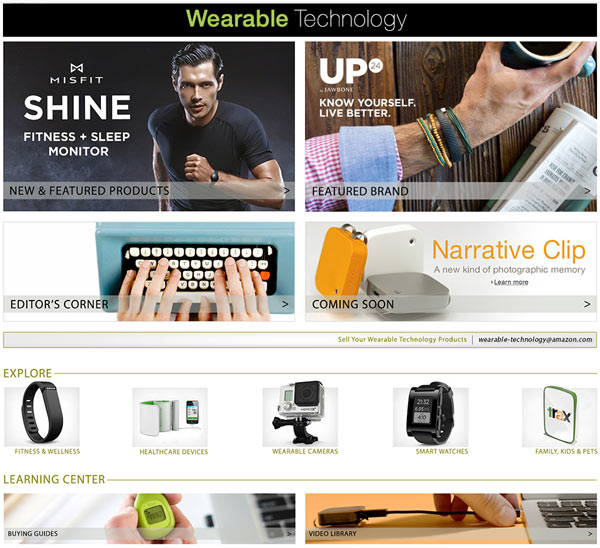 Amazon Wearable Technology