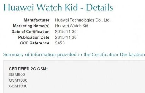 Huawei Watch Kid