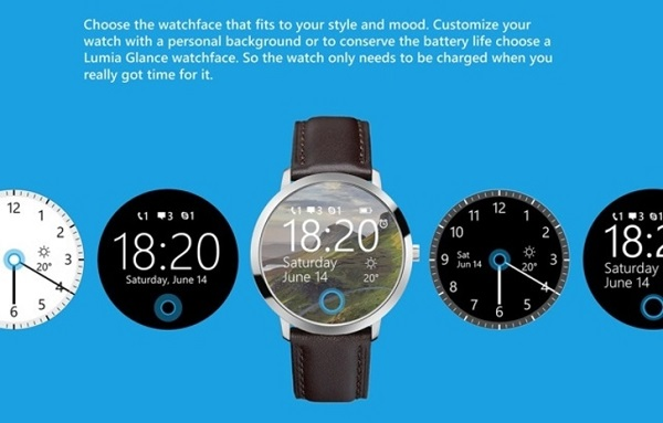 Microsoft Windows Phone smartwatch concept2
