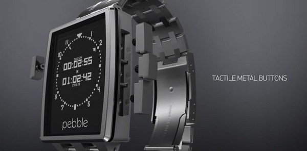 Pebble Steel Smart Watch2