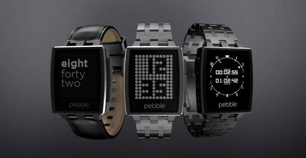 Pebble Steel Smart Watch3