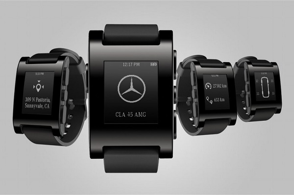 Pebble Watch mercedes benz