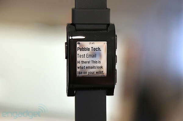 Pebble smartwatch rev8