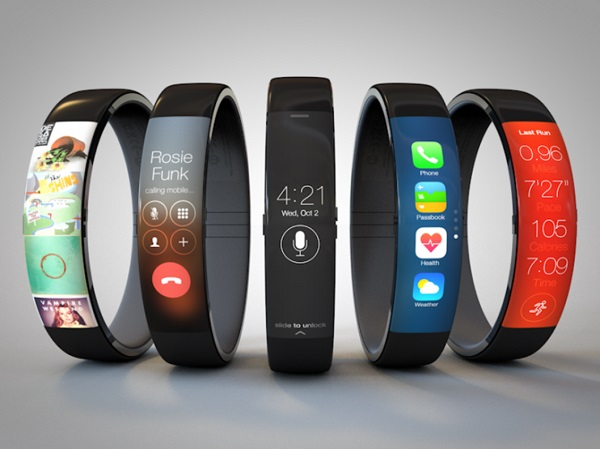 iWatch concept FuelBand