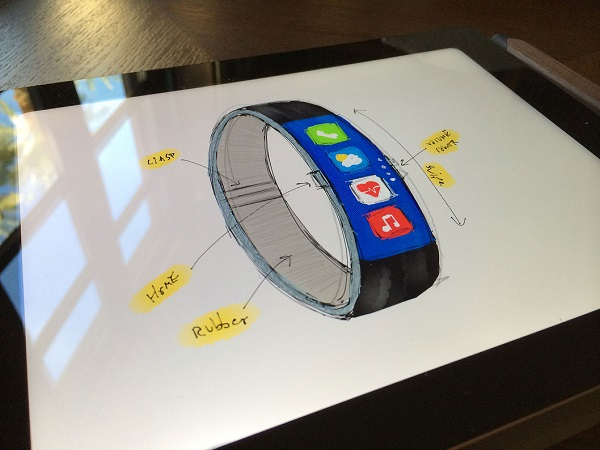 iWatch concept FuelBand 2