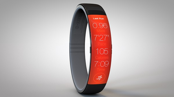iWatch concept FuelBand 5