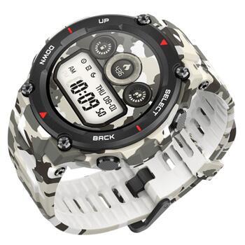 На российский рынок выходят ударопрочные смарт-часы Amazfit T-Rex стоимостью 11999р